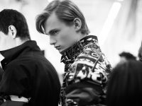 Ephemeral Relief: Backstage Milan Fashion Week Men's Spring/Summer 2018