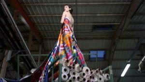"""dff117eee63e Still from """"La Fabrique de la Soie"""" by Craig McDean for Hermès."""