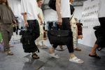 Out of the zen-like garden, Birkenstock shows its youth at Pitti Uomo
