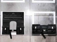 Prada invites a trio of female architects to reimagine black nylon—its signature fabric