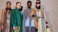 The Paris Fashion Week report: Rock and roll lives on, boxy suits, and patchwork prints